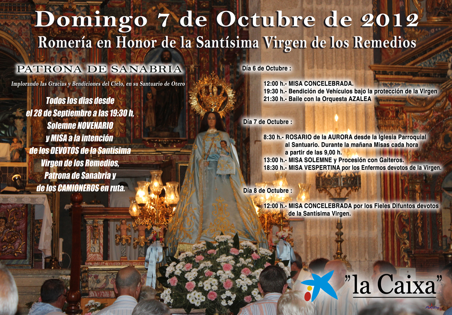 Cartel Remedios 2012